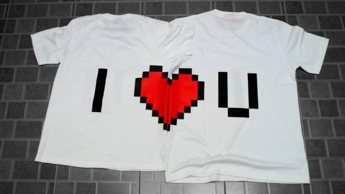maglietta san valentino