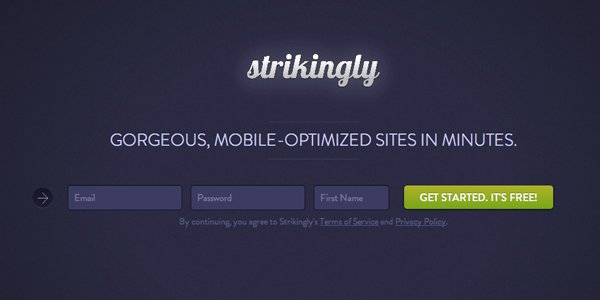 Creare un sito one-page