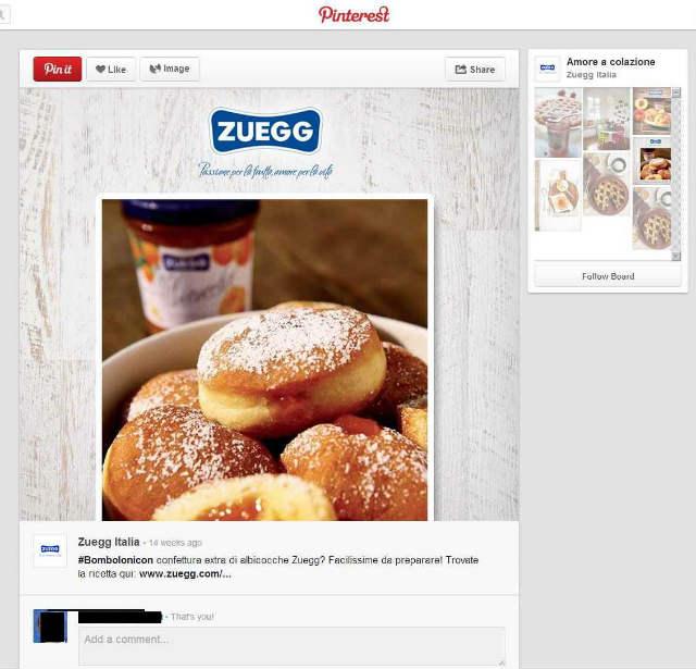 Zuegg, come spalmare la marmellata sui social media