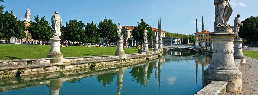 Vivere Padova e condividerla sui Social