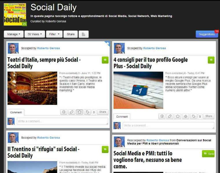 Social Daily - Scoop