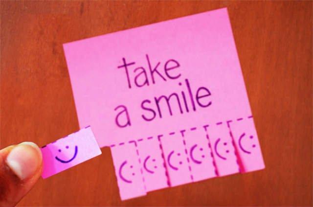Prendi un sorriso