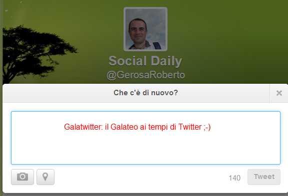Social Daily (GerosaRoberto) su Twitter