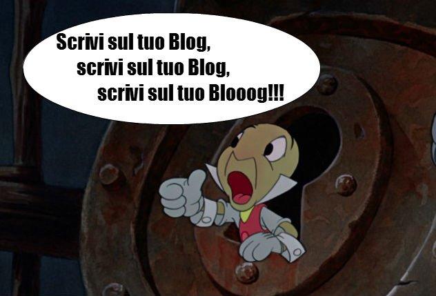 Scrivi sul tuo Blog!
