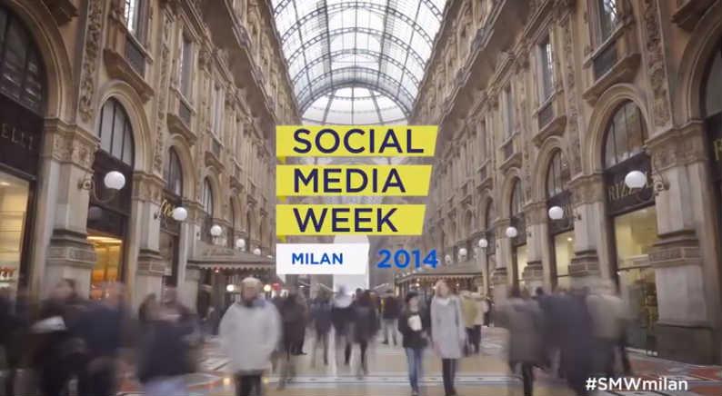 Sono alla Social Media Week 2014