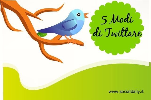 5 Modi di Twittare.jpg