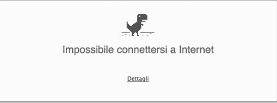 Impossibile Connettersi a Internet