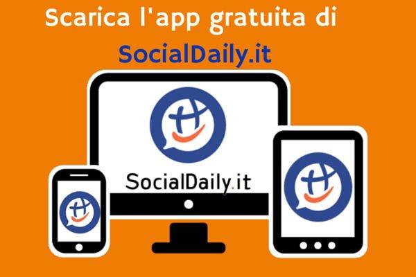 Scarica l'app gratuita di SocialDaily