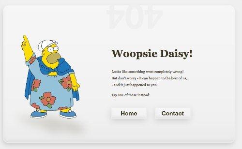 Error 404 Homer