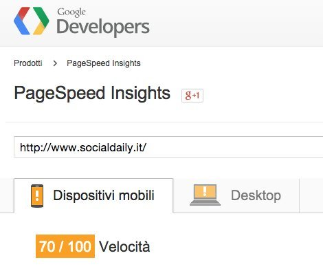 Pagespeed Mobile Siteground