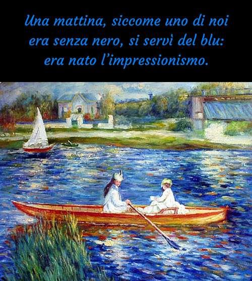 In barca sulla Senna Pierre-Auguste Renoir