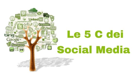 Le 5 C dei Social Media