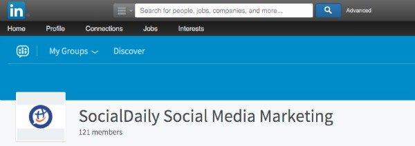 SocialDaily LinkedIn Group