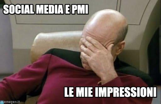 Social Media e PMI: le mie impressioni
