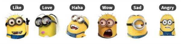 Reactions Minions